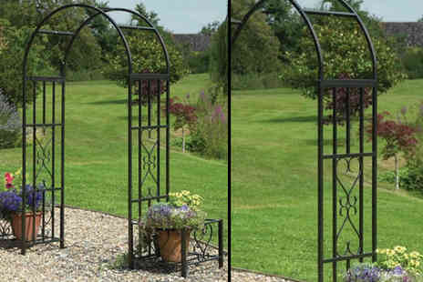 Gablemere - Huntingdon Ornamental Arch and Planters - Save 18%