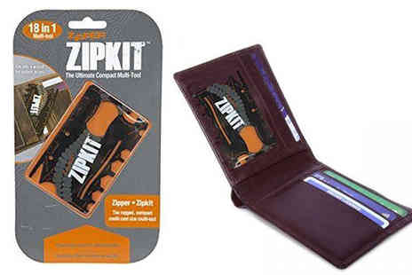 Shop Monk - 18 in 1 Compact Zipkit Multitool - Save 78%