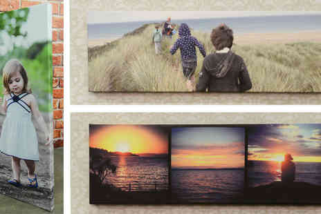 Your Perfect Canvas - 24x8 Panoramic 3 in 1 Canvas Print - Save 78%