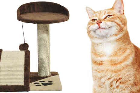 Mhstar - PawHut Cat Tree Scratching Climbing Playpen - Save 0%