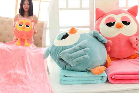 HK J and Y International Trading - Three In One Owl Blanket - Save 65%