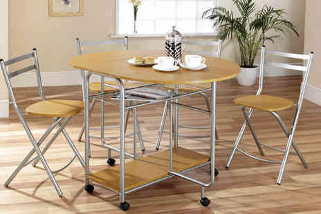 Gablemere - Stowaway Dining Set - Save 52%