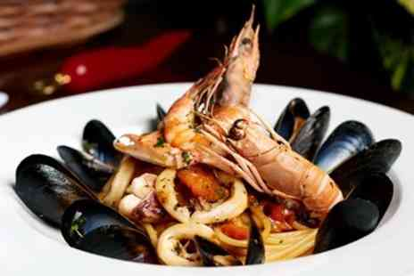Ballaro Restaurant - Three Course Italian Dinner And Bubbly for Two - Save 53%
