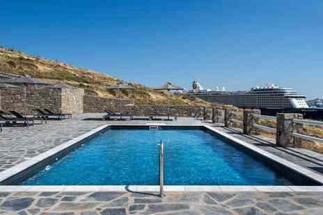 Bargain Late Holidays - Four or Seven night Mykonos beach break with breakfast and flights - Save 0%