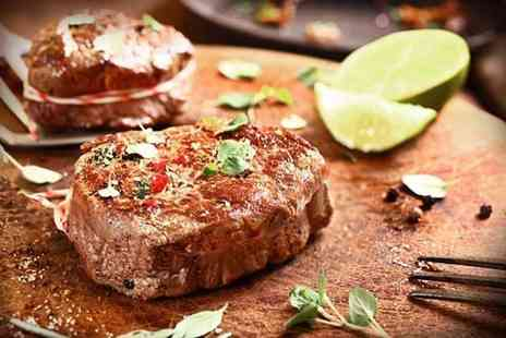 El Toro - Two course Argentine steak meal including a starter for two people - Save 73%