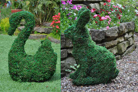 Internet Shop - An artificial garden topiary animal choose from five designs - Save 72%