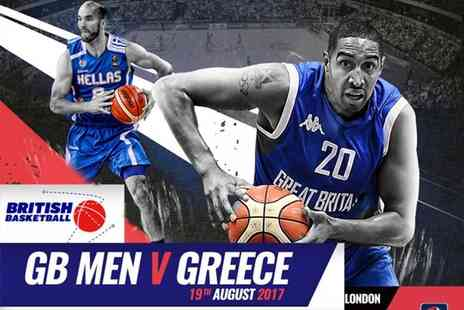 British Basketball - Ticket to see GB V Greece senior mens basketball - Save 55%