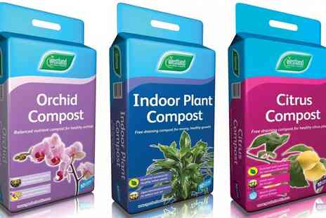 Groupon Goods Global GmbH - 10, 20 or 30L of Citrus, Indoor Plant or Orchid Compost - Save 56%