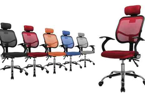 Groupon Goods Global GmbH - Sigma, Omega Or Kappa Office Chair With Free Delivery - Save 0%