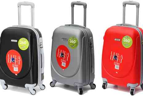 Groupon Goods Global GmbH - One or Two 20 Inch Ultralight ABS Hard Shell Cabin Cases in Choice of Colour - Save 50%