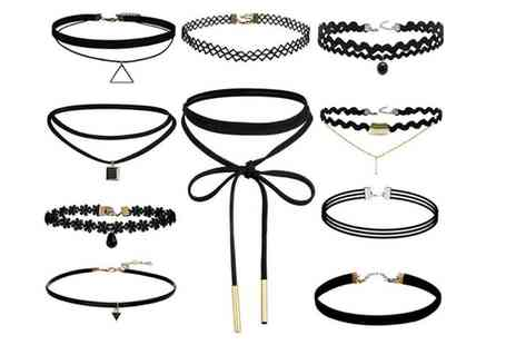 Groupon Goods Global GmbH - One, Two or Three Ten Piece Choker Sets - Save 80%