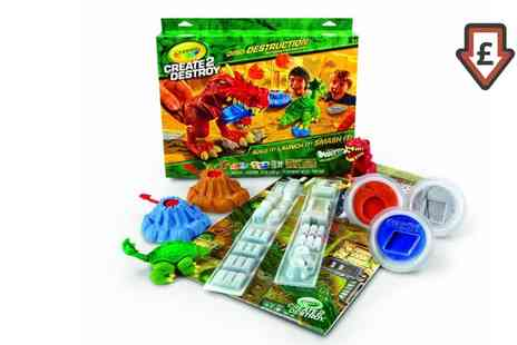 Groupon Goods Global GmbH - Crayola Create Two Destroy Dino Destruction Kit - Save 60%