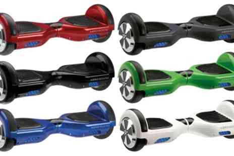 Groupon Goods Global GmbH - AeroBoard UK Certified Hoverboard with LG Battery & Carry Bag With Free Delivery - Save 45%
