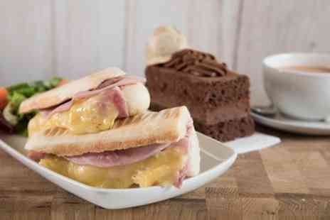 Druckers Vienna Patisserie - Panini, Slice of Gateau and Drink for One or Two - Save 41%