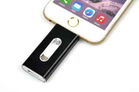 Groupon Goods Global GmbH - 8GB To 64GB iFlash iPhone Storage Drive - Save 48%