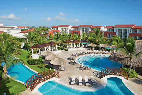 Now Garden Punta Cana - Five Star All Inclusive Deluxe Swim Up in Punta Cana - Save 73%