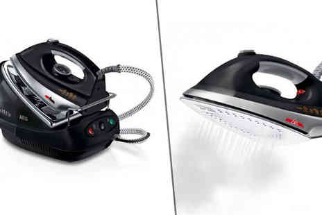 Direct Vacuums - AEG 2300W Steam Generator Iron - Save 0%