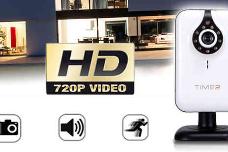 Hedoo - 720p HD Wi Fi IP Camera with Night Vision - Save 83%