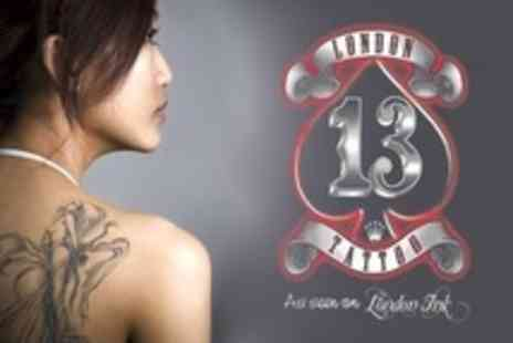 London Tattoo - Tattoo Consultation, Design and 30 Minutes of Ink Time - Save 68%