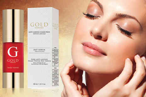 Gold Serums - 30ml bottle of Pure Anti Ageing Snake Venom Day Serum - Save 85%