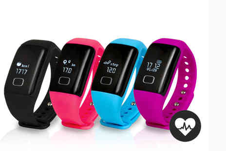 Ckent - Waterproof fitness tracker choose from four colours - Save 38%