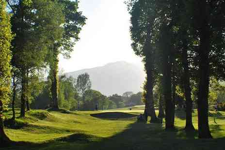 Callander Golf Club - Golf day pass with two rounds of 18 holes and lunch for one or two - Save 58%