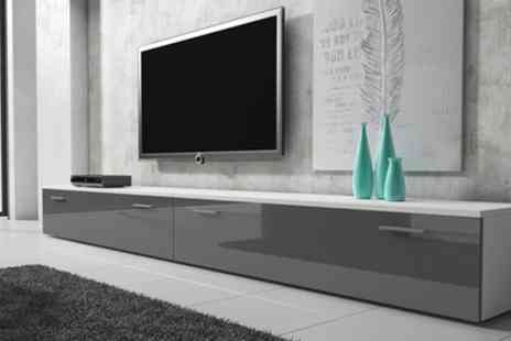 Groupon Goods Global GmbH - Boston TV Unit With Free Delivery - Save 53%