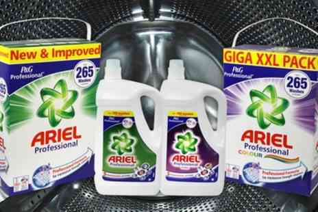 Groupon Goods Global GmbH - Ariel Washing Liquid and Powder - Save 47%