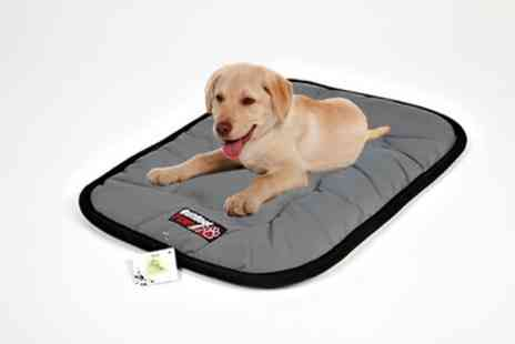 Groupon Goods Global GmbH - Petface Large Charcoal Pet Crate Mattress - Save 44%