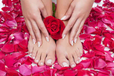 VIP Beauty Lounge - Shellac manicure or pedicure or both - Save 40%