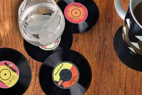 Groupon Goods Global GmbH - 6, 12 or 24 Vinyl Coasters - Save 73%