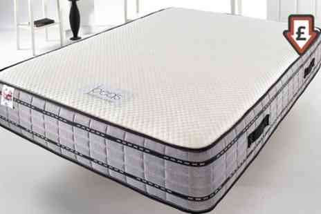 Groupon Goods Global GmbH - Premium Memory Foam Recovery Mattress With Free Delivery - Save 80%