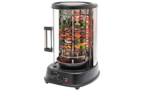 Groupon Goods Global GmbH - Daniel James 4 in 1 Electric Vertical Chicken and Kebab Roaster With Free Delivery - Save 44%