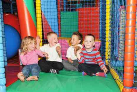 Jungle Jacks Play - Soft Play Entry with Drink for Up to Four - Save 36%