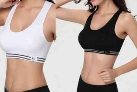 Groupon Goods Global GmbH - Padded Seamless Sports Bra - Save 74%