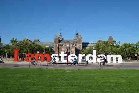 Weekender Breaks - Two or Three night Amsterdam break including breakfast and flights - Save 54%