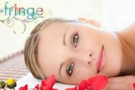 The Fringe - Facial With Back, Neck, and Shoulder Massage - Save 72%