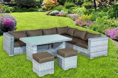 Rattan Trends - Large rattan lounge set - Save 53%