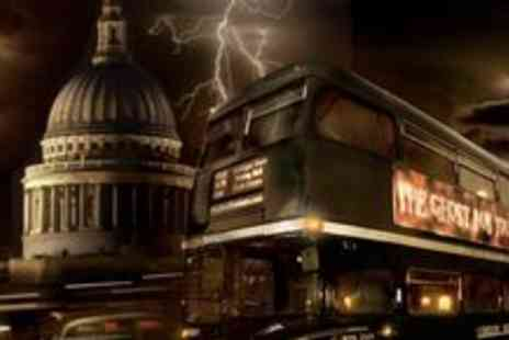 The Ghost Bus Tours - London Ghost Bus Tour for 75 Minutes - Save 50%