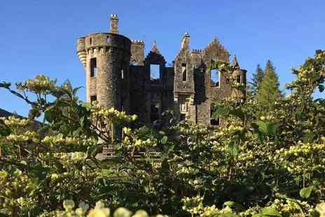 Dunans Castle - Decorative Lord or Lady title including personalised deed of entitlement, a letter from the Laird and guided tour or both titles - Save 50%