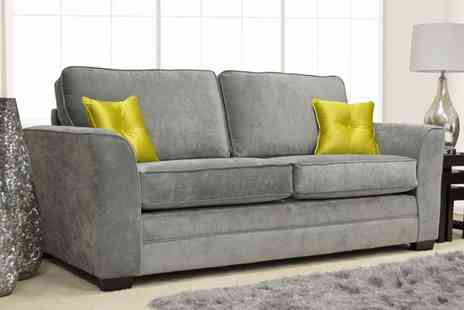 Groupon Goods Global GmbH - Ashby Sofa Collection Armchair, Two Seater, Three Seater or Set - Save 62%