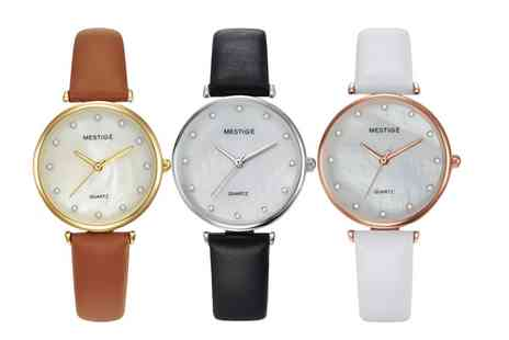 Neverland Sales - Womens Hugo Watches with Crystals from Swarovski With Free Delivery - Save 78%