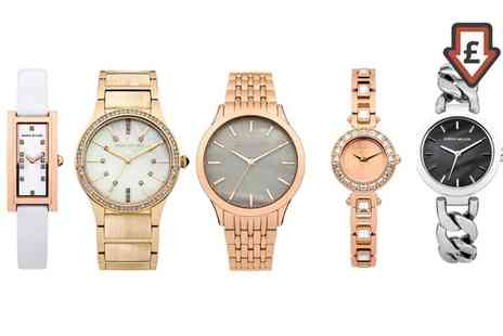 Groupon Goods Global GmbH - Karen Millen Wrist Watch in Choice of Design - Save 5%