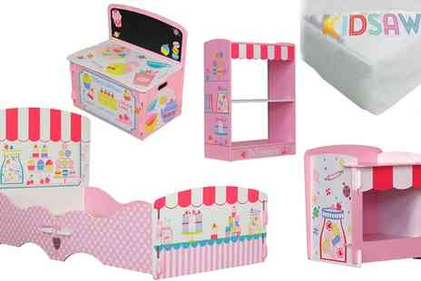 Groupon Goods Global GmbH - Kidsaw Patisserie Kids Bedroom Furniture Pieces - Save 30%