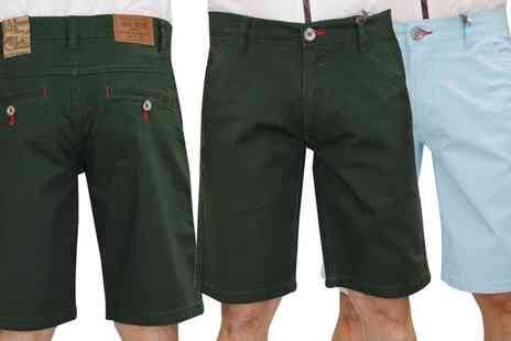 Groupon Goods Global GmbH - Mens Jack South Bermuda Shorts in Choice of Colours and Sizes - Save 0%