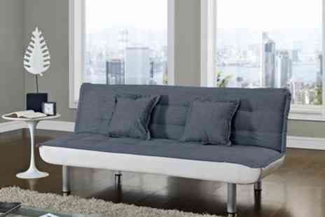Groupon Goods Global GmbH - Tuscon Contrast Sofa Bed With Free Delivery - Save 61%