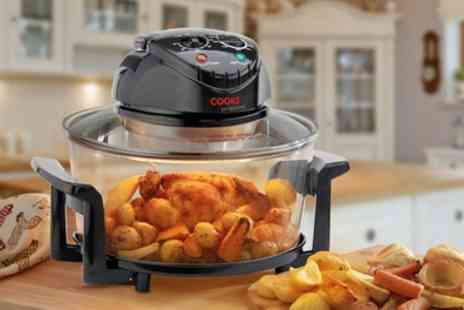 Groupon Goods Global GmbH - Cooks Professional Halogen Oven or Air Fryer with 4 or 12 Accessories - Save 45%