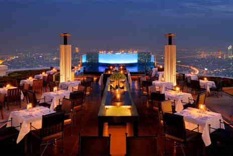 Lebua Tower Bangkok - Five Star Vibrant City and Beachside Bliss - Save 0%