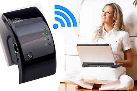 Graboom - Wireless WiFi Repeater - Save 0%