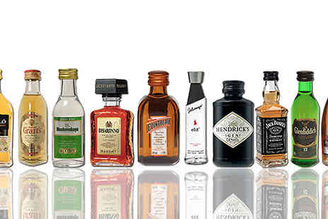 Karpe Deal SL - 10 Bottle Miniature Spirits Collection - Save 27%